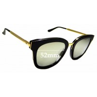 5b568574481 Sunglass Fix New Replacement Lenses for Gentle Monster Absente One - 52mm  wide