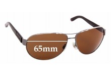 Sunglass Fix Replacement Lenses for Giorgio Armani AR 6025 - 65mm Wide