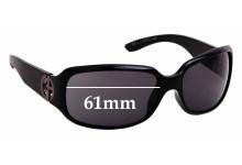 Sunglass Fix Replacement Lenses for Giorgio Armani GA 372/S - 61mm wide