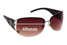 Sunglass Fix Replacement Lenses for Giorgio Armani GA 380/F/S - 68mm Wide