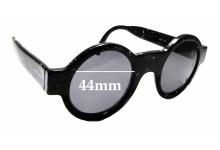 Sunglass Fix Replacement Lenses for Giorgio Armani 408 Vintage - 44mm wide
