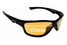 Sunglass Fix Replacement Lenses for Glarefoil Fletcher - 63mm wide