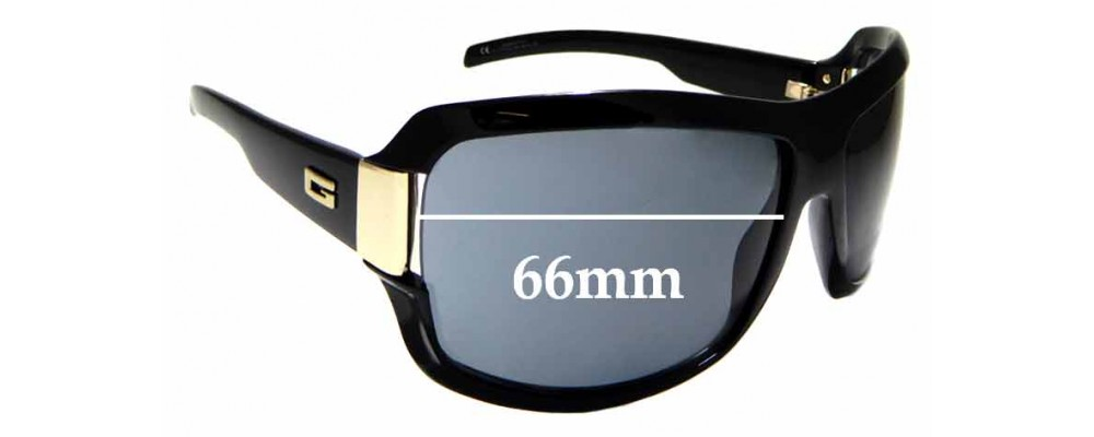 Sunglass Fix Replacement Lenses for Gucci GG1510/N/S - 66mm wide