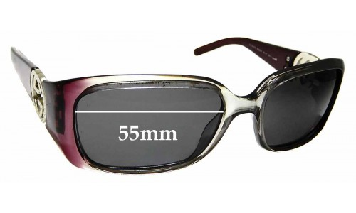 Sunglass Fix Replacement Lenses for Gucci 3504/S - 55mm wide