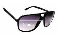 Sunglass Fix Replacement Lenses for Gucci GG 1091/S - 60mm wide