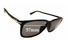Sunglass Fix Replacement Lenses for Gucci GG 1107F/S - 57mm wide