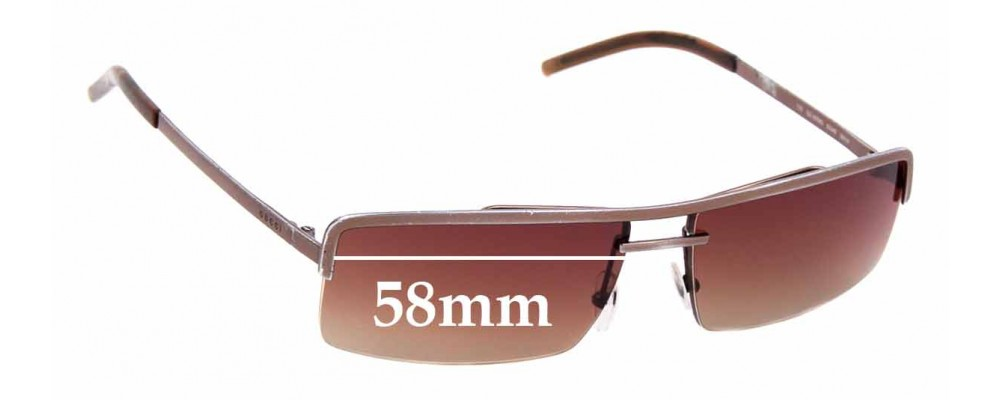 Sunglass Fix Replacement Lenses for Gucci 1679/S - 58mm wide