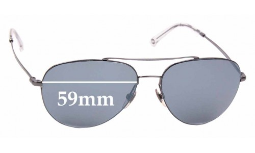 Sunglass Fix Replacement Lenses for Gucci 2245/S - 59mm wide