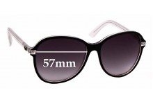 Sunglass Fix Replacement Lenses for Gucci 3193/S - 57mm wide