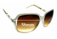 Sunglass Fix Replacement Lenses for Gucci GG3584 - 58mm wide