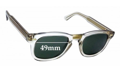 Sunglass Fix Replacement Lenses for Gucci GG0182S - 49mm wide