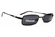 Sunglass Fix Replacement Lenses for Gucci GG1637 - 50mm wide