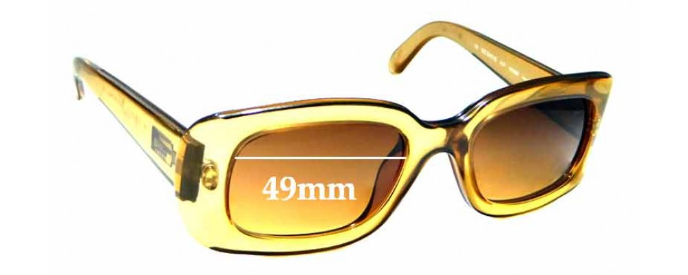 Sunglass Fix Replacement Lenses for Gucci GG2431/S - 49mm wide