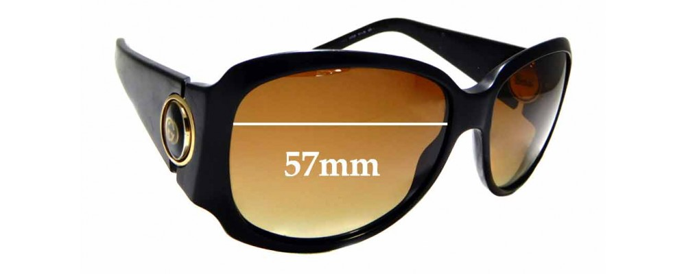 Sunglass Fix Replacement Lenses for Gucci GG3104/S - 57mm wide
