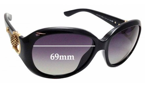 Sunglass Fix Replacement Lenses for Gucci 3712/S - 59mm wide