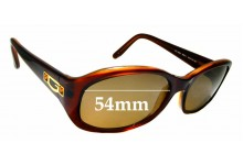 Sunglass Fix Replacement Lenses for Guess GU 6225 - 54mm wide