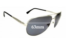 Sunglass Fix Replacement Lenses for Guess GU6829 - 63mm wide