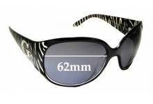 Sunglass Fix Replacement Lenses for Guess GU7250 - 62mm wide