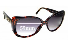 Sunglass Fix Replacement Lenses for Guess GUP 2013 - 59mm