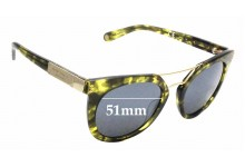 Sunglass Fix Replacement Lenses for Henri Bendel Broadway - 51mm Wide