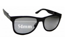 Sunglass Fix Replacement Lenses for Tommy Hilfiger / Specsavers TH Sun Rx 15 - 54mm wide