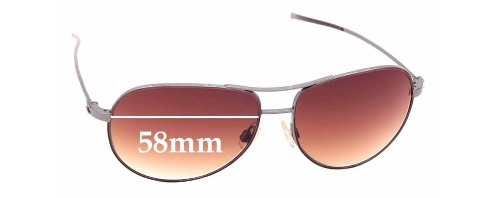 Sunglass Fix Replacement Lenses for Hogan HO05 - 58mm wide