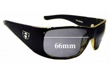 Sunglass Fix Replacement Lenses for Hoven Ritz - 66mm wide
