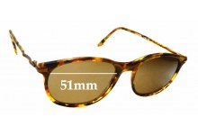 Sunglass Fix Replacement Lenses for James Dean Curtis Monterry - 51mm