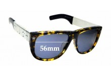 Sunglass Fix Replacement Lenses for Jean Paul Gaultier 56-8272 - 56mm wide