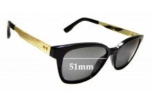Sunglass Fix Replacement Lenses for Jimmy Choo 160 - 51mm wide