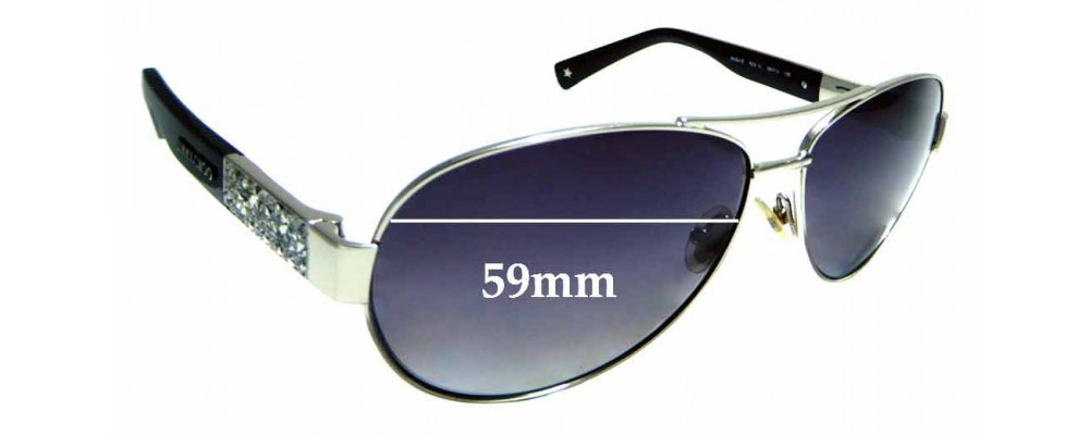 492873287d68d Sunglass Fix Replacement Lenses for Jimmy Choo BABA S- 59mm wide ...