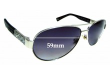 Sunglass Fix Replacement Lenses for Jimmy Choo BABA/S- 59mm wide