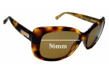 Sunglass Fix Replacement Lenses for Jimmy Choo Kalia/S- 56mm wide