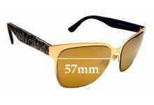 Sunglass Fix Replacement Lenses for Jimmy Choo Keira - 57mm wide