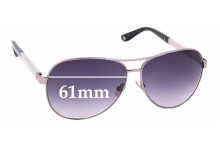 Sunglass Fix Replacement Lenses for Jimmy Choo Lexie/S - 61mm wide