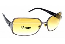 Sunglass Fix Replacement Lenses for Jimmy Choo Marlon/S - 63mm wide