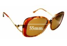 Sunglass Fix Replacement Lenses for Judith Leiber JL1654 - 55mm wide