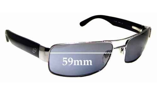 Sunglass Fix Replacement Lenses for K&L KL3189 - 59mm wide