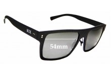 Sunglass Fix Replacement Lenses for Karbon Worx Drivers - 54mm wide