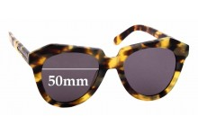 Sunglass Fix Replacement Lenses for Karen Walker Number One - 50mm Wide