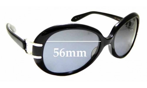 Sunglass Fix Replacement Lenses for Kieselstein-Cord Last Tango - 56mm Wide