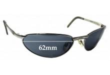 Sunglass Fix Replacement Lenses for Killer Loop K0532 - 62mm wide