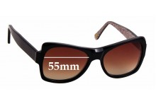 Sunglass Fix Replacement Lenses for Kirk Originals Nymphette - 55mm
