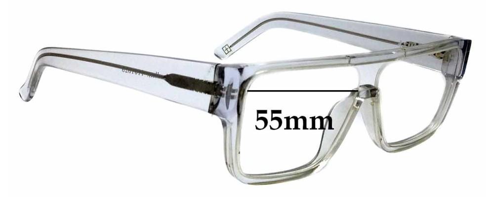 5165e4d35b0 Sunglass Fix Replacement Lenses for Ksubi Alkes - 55mm Wide ...