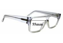 Sunglass Fix Replacement Lenses for Ksubi Alkes - 55mm Wide
