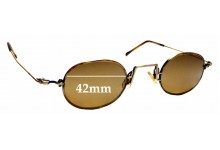 Sunglass Fix Replacement Lenses for Lanvin 1212 - 42mm wide