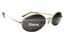 Sunglass Fix Replacement Lenses for Le Specs Love Train - 50mm wide