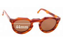 Sunglass Fix New Replacement Lenses for Lesca Panto - 44mm Wide