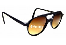Sunglass Fix Replacement Lenses for L.G.R Reunion II - 49mm wide