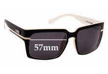 Sunglass Fix Replacement Lenses for LIIVE La Jolla - 57mm wide